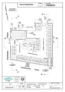 Subdivision diagram basement