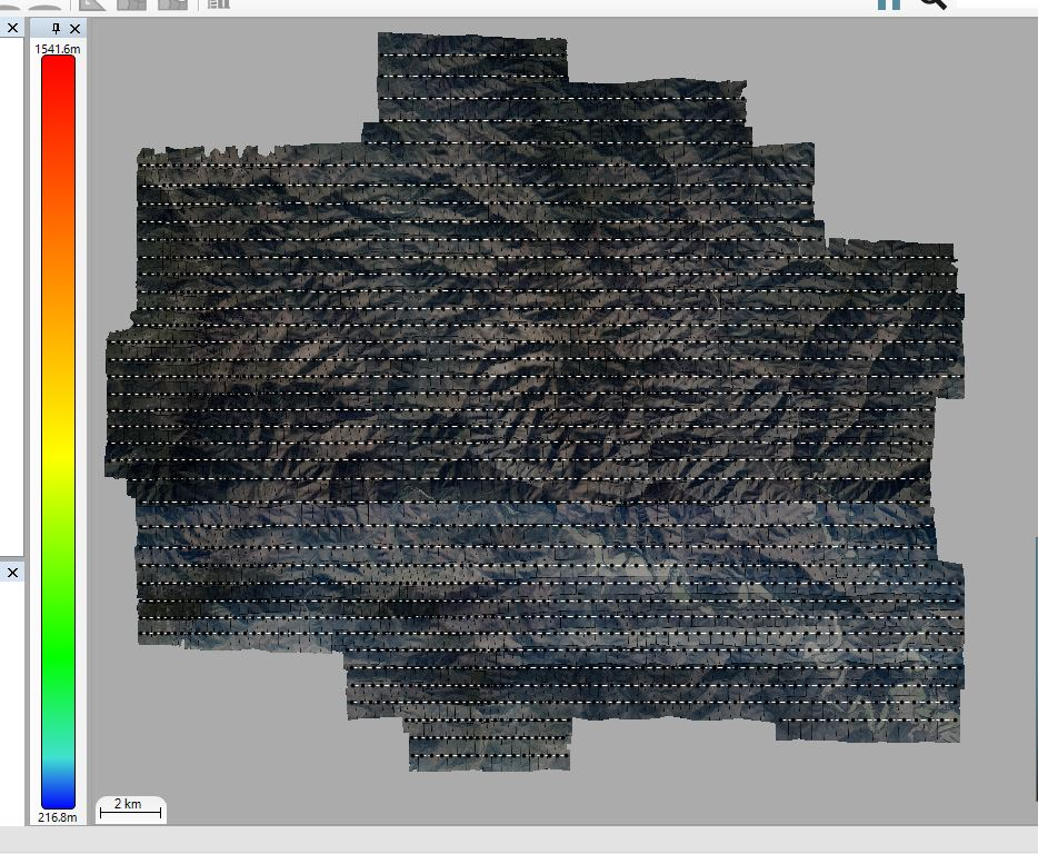 Large 4 band aerial imagery project