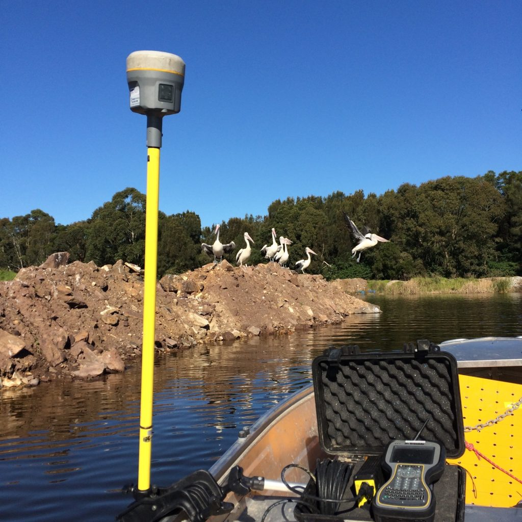 Bathymetric Surveying in Shellharbour