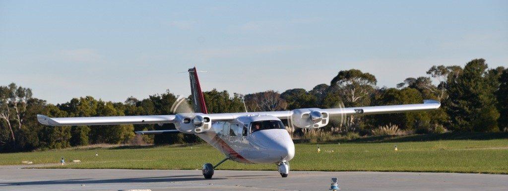Aerial survey aircraft