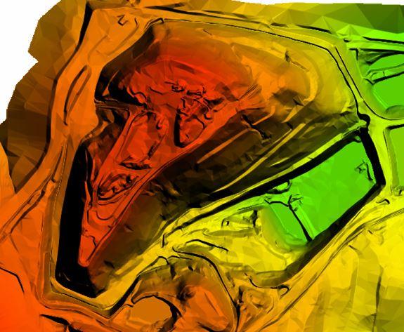 Digital Terrain Model from photogrammetry